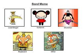 Meme Band - my band meme by rabbidlover01 on deviantart