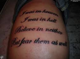 greek bible verse tattoo on ribs for men photo 1 photo