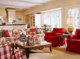 Best DECORATING WITH RED Images On Pinterest French Style - Country designs for living room