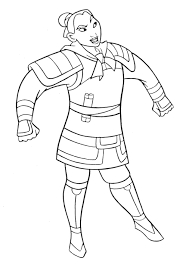 mulan 2 coloring pages coloring pages