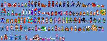 nes character sprites by amarythe on deviantart