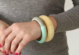 bangle bracelet diy images Simple diy wire wrapped wooden bangle bracelet jpg
