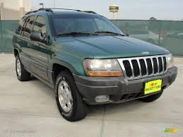 green jeep grand cherokee 2000 shale green metallic jeep grand cherokee laredo 47251811