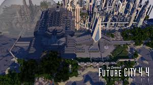 City Maps For Minecraft Pe Future City
