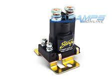 other car power relays battery isolators installation ebay