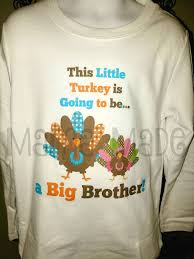 boy s thanksgiving pregnancy announcement shirt big shirt