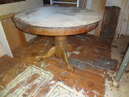 antique oak dining room sets heir and space an antique oak pedestal table
