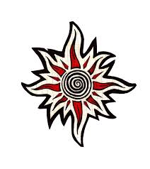tribal sun tattoo designs best tattoos designs