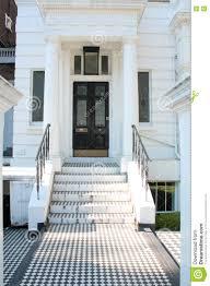 entrance door english style stock photo image 74635505
