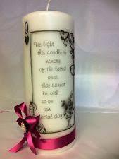 Wedding Memorial Wedding Memorial Candle Ebay