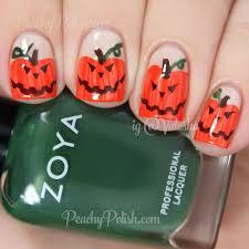 happy halloween more halloween nail art peachy polish