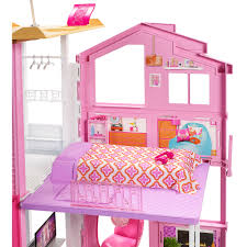 Barbie Dining Room by Barbie Pink Passport Deluxe 3 Story Townhouse Mattel Toys