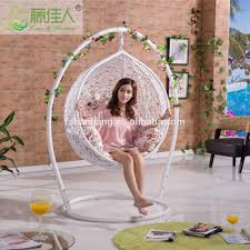 Single Person Hammock Chair Outdoor Garden Patio Swing Furniture Free Standing Wood Curved Arc