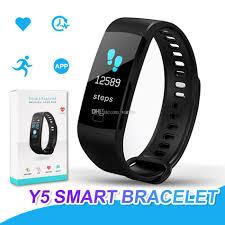 bracelet iphone sleep images Y5 smart bracelet wristband fitness tracker color screen heart jpg