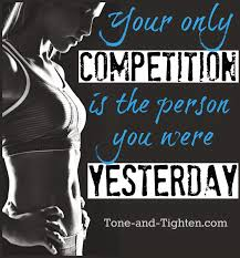 Fitness Motivation Memes - fitness motivation your only competition exercise inspiration
