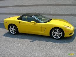 2006 corvette convertible 2006 velocity yellow chevrolet corvette convertible 13683380