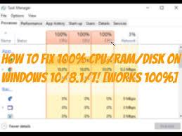 is pubg cpu intensive how to fix high 100 cpu ram disk usage in windows 10 8 1 7