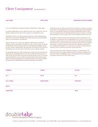 client consignment agreements at doubletake designer consignment
