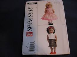 dress pattern brands 51 best butterick doll patterns images on pinterest doll patterns