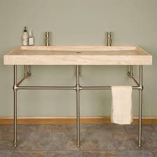 bathroom modern trough sink with two faucets large size bathroom modern trough sink with two faucets interior ideas pedestal