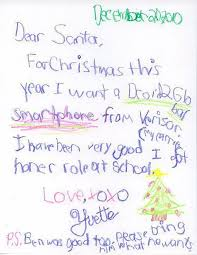 the funniest yet cute letters to santa