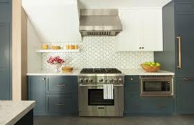 Dark Blue Kitchen Blue Bottom Kitchen Cabinets Design Ideas