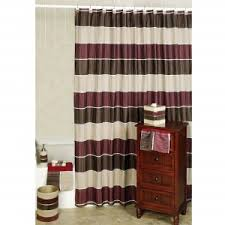 Tan And White Horizontal Striped Curtains Home Decor Chic Horizontal Striped Curtains For Window Treatment
