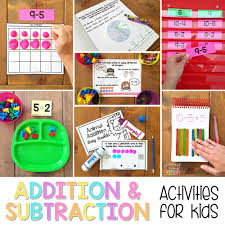 addition and subtraction to 20 activities for proud to be primary