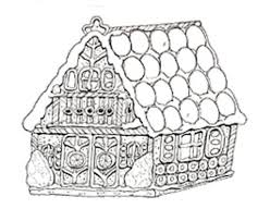 gingerbread house coloring u003e u003e disney coloring pages