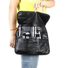makeup artist belt professional pu cosmetic makeup brush bag apron with artist belt