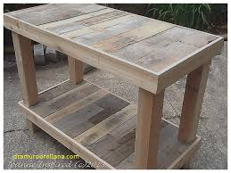 kitchen work tables islands elegant pallet project kitchen island