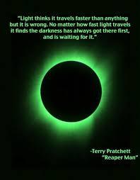 what travels faster than light images Light thinks it travels faster than anything but it is wrong jpg