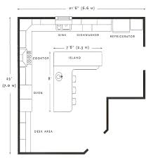 how to design a kitchen floor plan