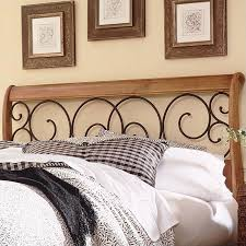 Iron And Wood Headboards Spindle Headboard In Oak B9215x