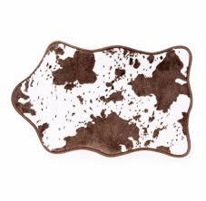 Brown Bathroom Rug by Brown Cow Bath Rug Wayoutfitters
