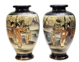 Antique Cobalt Blue Vases Antique Blue Vase Etsy