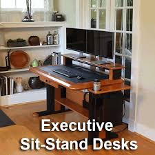 Wood Cable Management Desks U0026 Tables For Home And Office Caretta