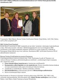 Bureau Veritas Lyhyesti Bureau Veritas Certification Ent Bvqi Pdf