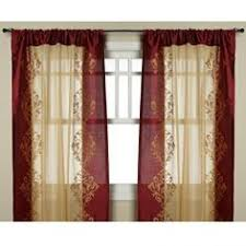 Sheer Burgundy Curtains Shelby Brights Thermal Lined Panel 63 Panel Royal Blue By