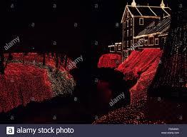 clifton ohio christmas lights clifton mill ohio usa 18th dec 2015 december 18 2015