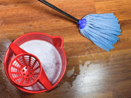 how to remove rust stains from vinyl flooring
