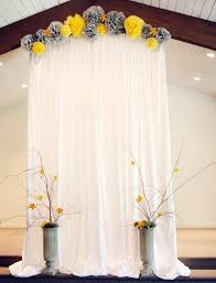 wedding backdrop arch 30 alternative wedding backdrops home design and interior