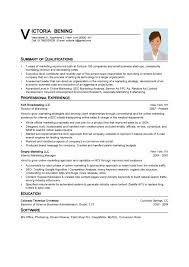 resume for sales and marketing marketing resume example