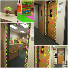 fice Birthday Party Decorations in Neon All Dollar Tree items