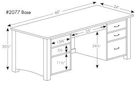 Desk Drawer Dimensions Rivertowne 60