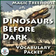 Magic Treehouse - magic tree house 1 dinosaurs before dark vocabulary packet tpt