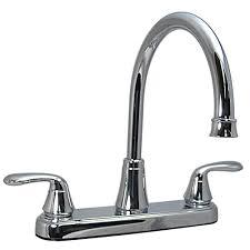 rv kitchen faucet parts kitchen 2 handle faucet chrome finish chrome finish and rv