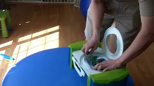 Safety 1st Potty Chair Travel Potty Demo Baby Safe Travel Youtube