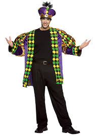 mardi gras suits mardi gras king costume