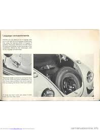 volkswagen beetle 1970 1 g owners manual